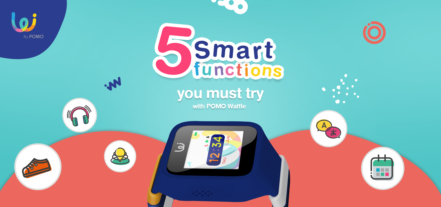 5 Smart Functions You Must Try with POMO Waffle